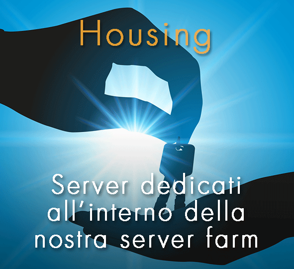 Server dedicati all'interno della nostra server farm